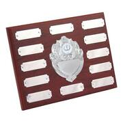 Wooden Trophy Shield