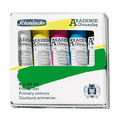 Schmincke Akademie-Gouache Sortiment 5x20ml