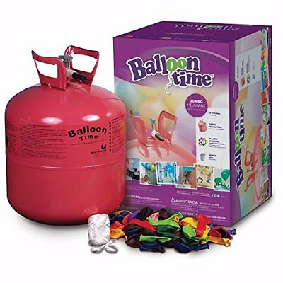 Disposable Jumbo Helium Tank, 50 Balloons included Great Quality