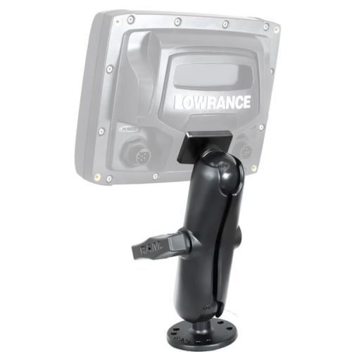 "Ram Mounts 1 1/2"" Ball Mount Lowrance Mark-5 & Elite-5 Fishfinder - RAM-101-L011"