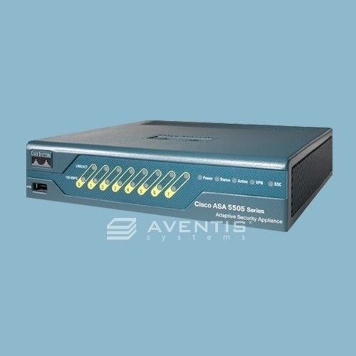 Brand Sealed Cisco Asa5505-ul-bun-k9 Security Firewall Un...