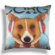Corgi Pillow