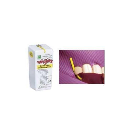 Coltene Whaledent H06522 Wedjets Dental Dam Stabilizing Cord Yellow Small 7 Ft