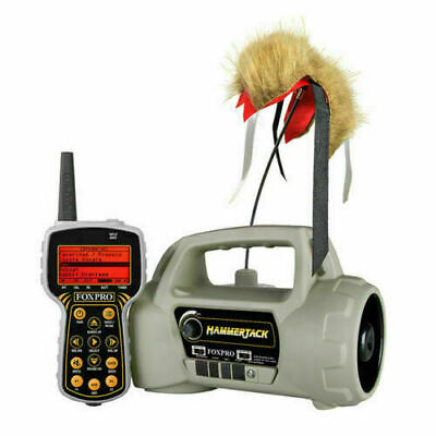 Foxpro HammerJack Predator Coyote Game Call W/Decoy & Remote 100 Sounds ****