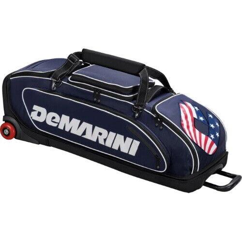 DeMarini Special Ops Wheeled Bag WTD9409 - Navy