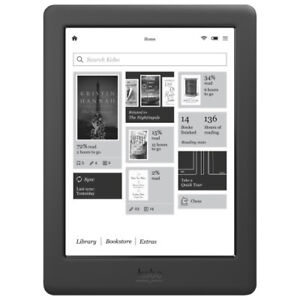 "Kobo GLO HD E-READER 6"" BACKLIGHT TOUCHSCREEN LCD, WiFi . RETAIL"