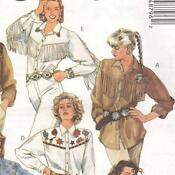 Western Shirt Sewing Patterns