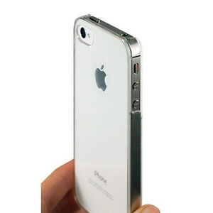Apple iPhone 4 4G & 4S Crystal Case Schutz Hülle Hard Cover Tasche Transparent