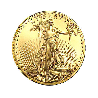 2017 1 oz Gold American Eagle Coin Brilliant Uncirculated