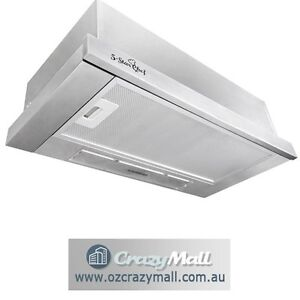 Slide-Out Canopy Stainless Steel Range Hood 60cm Melbourne CBD Melbourne City Preview