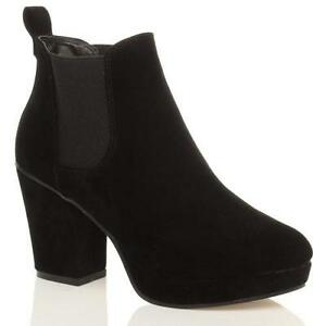 6013970e00d0 Suede Heeled Chelsea Boots