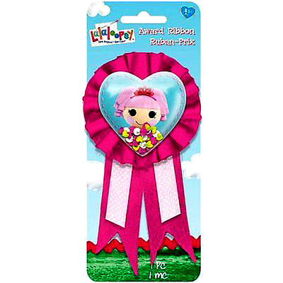 LALALOOPSY HEART GUEST OF HONOR RIBBON ~ Birthday Party Supplies Favors Award](Lalaloopsy Party Supplies)