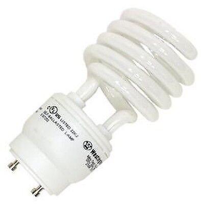 26W CFL Mini Spiral GU24 Base 4100K Cool White =120W Fluorescent Light Bulb  ()
