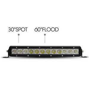 "13"" 60W single row led light bar, off road light"