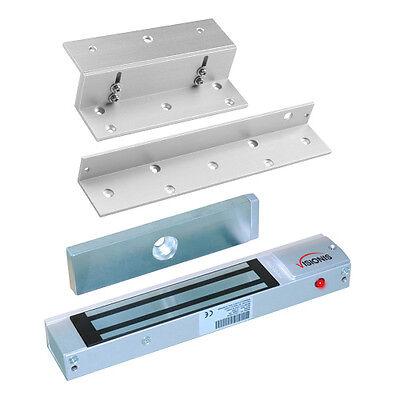 Visionis Electric 300lbs Door Lock Indoor Kit With L And Z Bracket