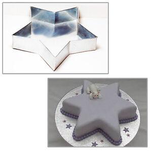 Single Star Birthday Cake Tin 6