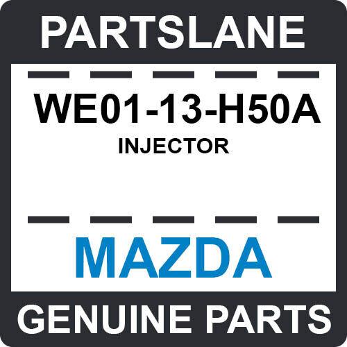 We01-13-h50a Mazda Oem Genuine Injector