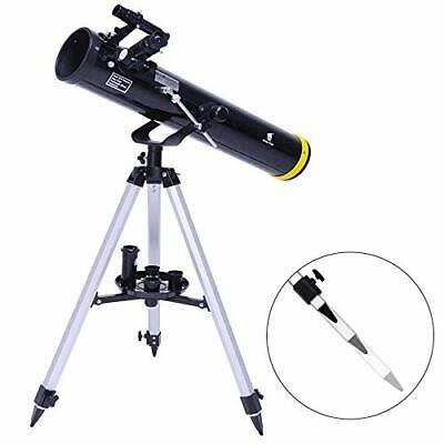 GEERTOP Portable Reflector Telescope 76mm Aperture 700mm Astronomy Travel Scope