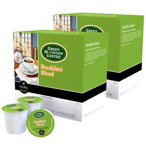 96 k green mountain coffee breakfast blend light roast k cup 96 ct. Black Bedroom Furniture Sets. Home Design Ideas