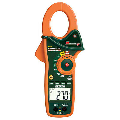 Extech Ex810-nistl 1000a Ac Clamp Dmm Ir Thermometer W Limited Nist