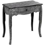 Black Hall Table