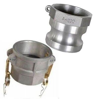 Abbott Rubber Water Trash Pump Hose 3 Quick Coupler Set