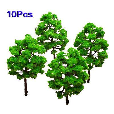 Model Tree Train Set Plastic Trunks Scenery Landscape -10 PCS