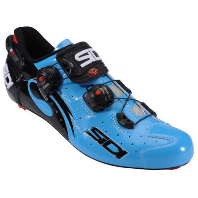 New SIDI WIRE Carbon Road Cycling Shoes Chris Froome Blue Sky Black US (Cycling Warehouse)