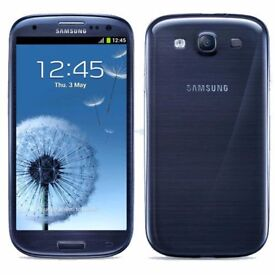 Samsung Galaxy S3 - 16GB - Unlocked To All Networks - Blue - Excellent Condition - Android