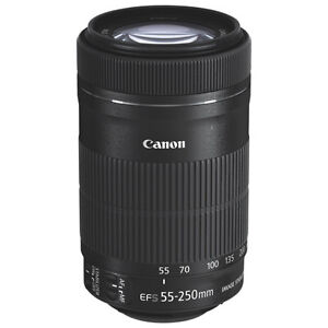 CANON EF-S 55-250 f/4 - 5,6 IS II w.pro QUALITY FILTER / REDUCED