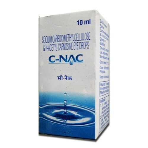 NEW - Cataract Eye Drops,Glaucoma, NAC ,Can Cataracts C Bright