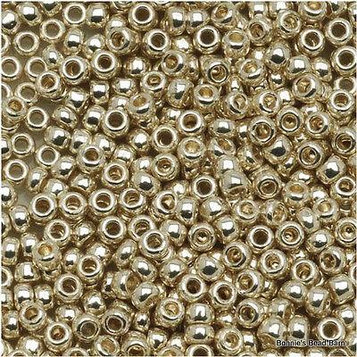 15/0 Galvanized Aluminum TOHO Round Seed Bead 10 grams #558