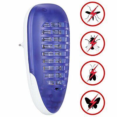 YUNLIGHTS Lámpara Antimosquitos, Eléctrico Mata Moscas, 4W Trampa para