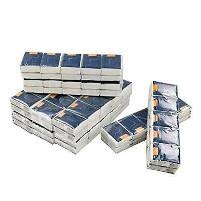 Teyyvn 100-Pack 4-Ply White Facial Tissues Pocket Packs