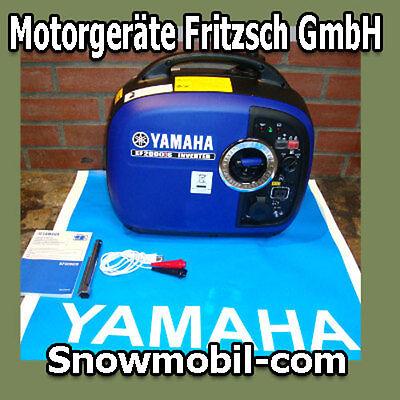 INVERTER Stromerzeuger Generator Yamaha EF2000iS Benzin Katastrophenschutz