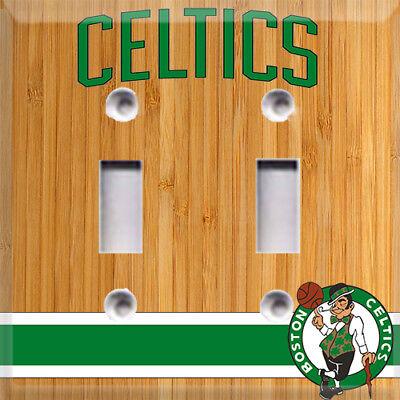 Basketball Boston Celtics Light Switch Cover Choose Your Cover](Basketball Light)