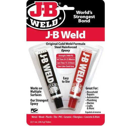 J-B JB Weld Adhesive Epoxy 1oz Tubes #8265-S