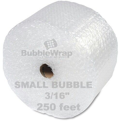 """Bubble Wrap 250 ft  x 12"""" Small Sealed Air 3/16 Best"""