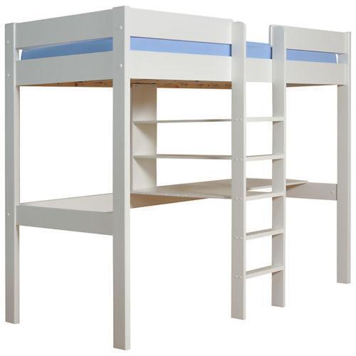 White High Sleeper: Home, Furniture & DIY   eBay