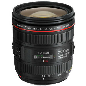 Canon EF 24-70mm f/4L IS USM Lens with Filter