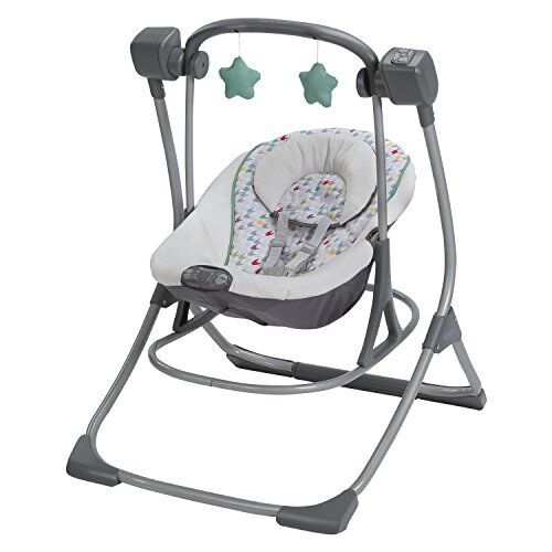 Graco Cozy Duet BABY SWING Portable 2 In 1 Baby Swing Plus ROCKER Lambert