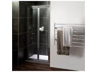 Mere Alba 700mm Bi-fold Shower Door