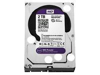 Internal Hard Disk Drive. 2tb. Western Digital. New.