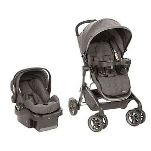 Safety first LUX stroller, car seat and bases