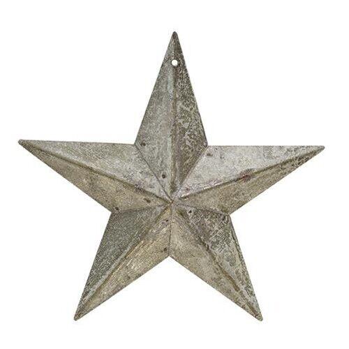 GALVANIZED BARN STAR Ornament Primitive Country Farmhouse