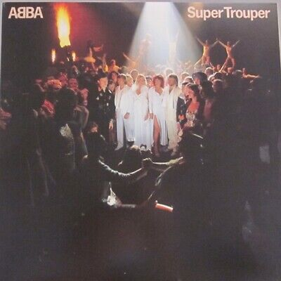 Abba Super Trouper Used Vinyl LP