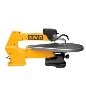 DeWalt DW788 20 in. 400-1,750 SPM Variable-Speed Tool-Free Scroll Saw New