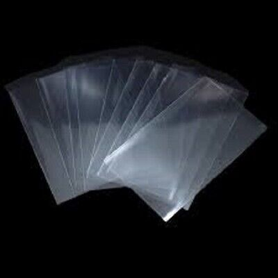 1000 5x7 Clear Poly Bags 1.5Mil Flat Open Top Plastic Packaging Packing LDPE