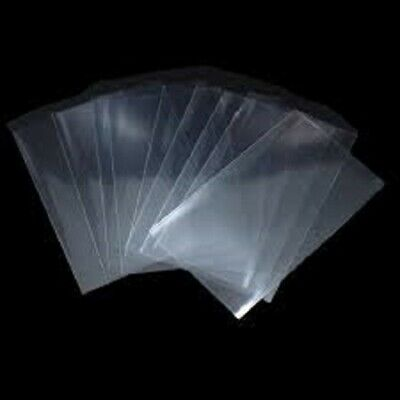 400 5x7 Clear Poly Bags 1.5Mil Flat Open Top Plastic Packaging Packing LDPE