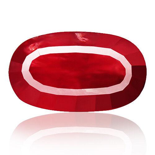 Rhodonite 9.84ct manganese bearing incarnadine red 100% natural earth mined